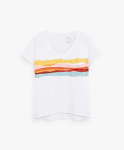 Colourful Print T-shirt