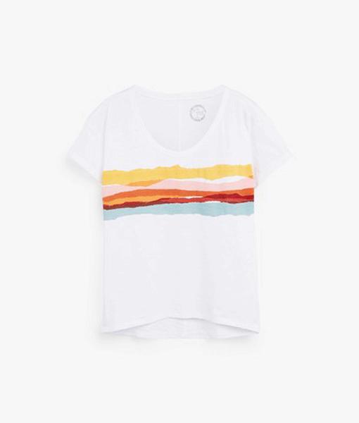 Colourful Print T-shirt