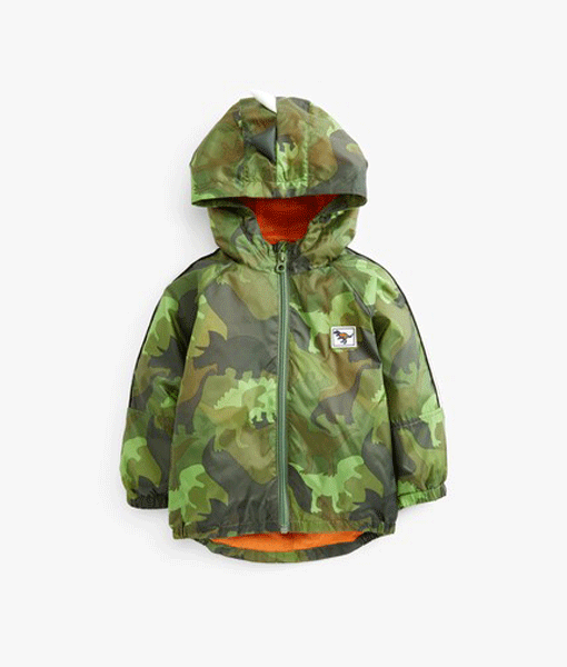 Dino Camo Print Jacket