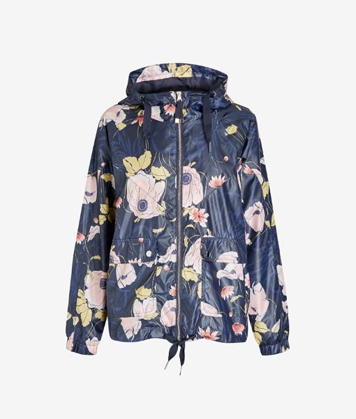 Floral Raincoat
