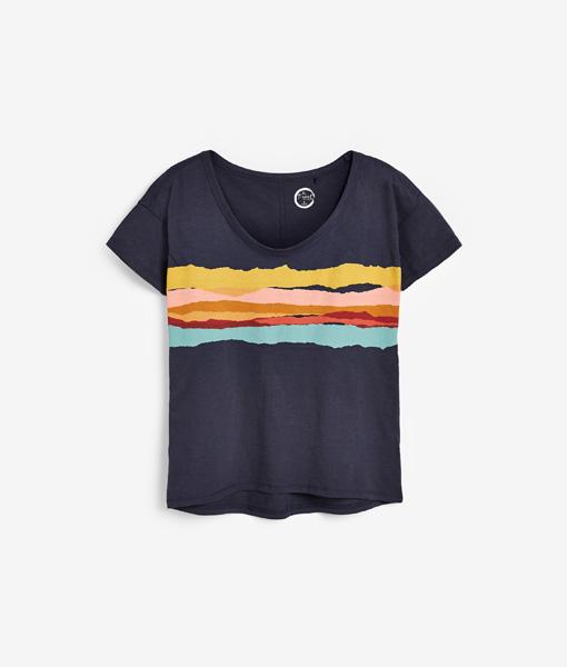 Colour Print T-shirt