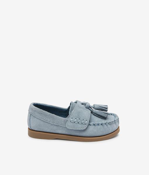 Blue Tassle Loafer