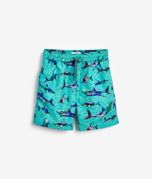 Blue Shark Swim Shorts