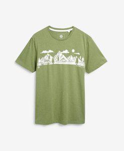 Green Campervan T-shirt
